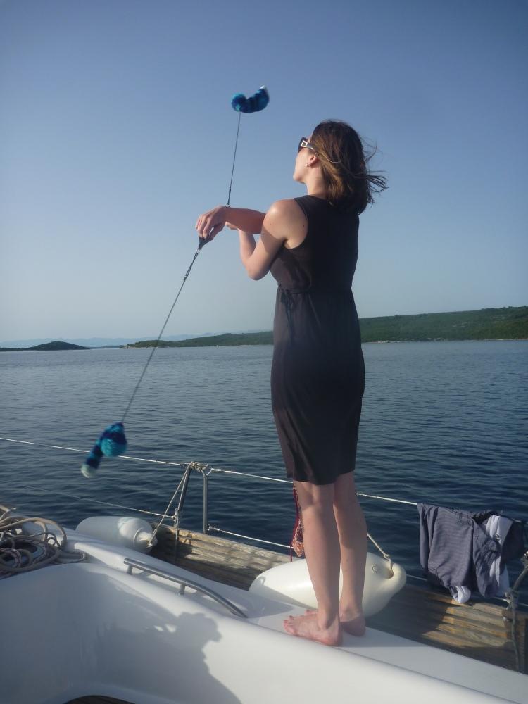 Věrka a její kouzelné balónky.