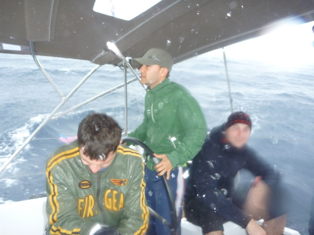 Typická červnová prosluněná plavba