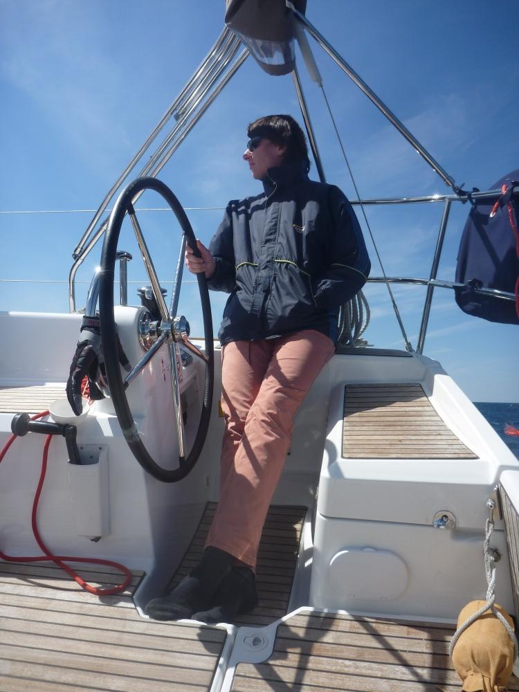Jachting v těchhle podmínkách je čisté potěšení.