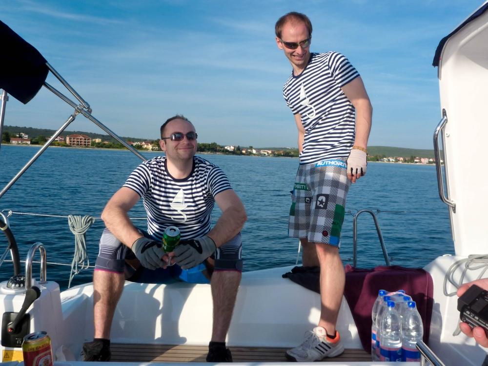 Čo bolo, to bolo, terazky jsme na palubě!