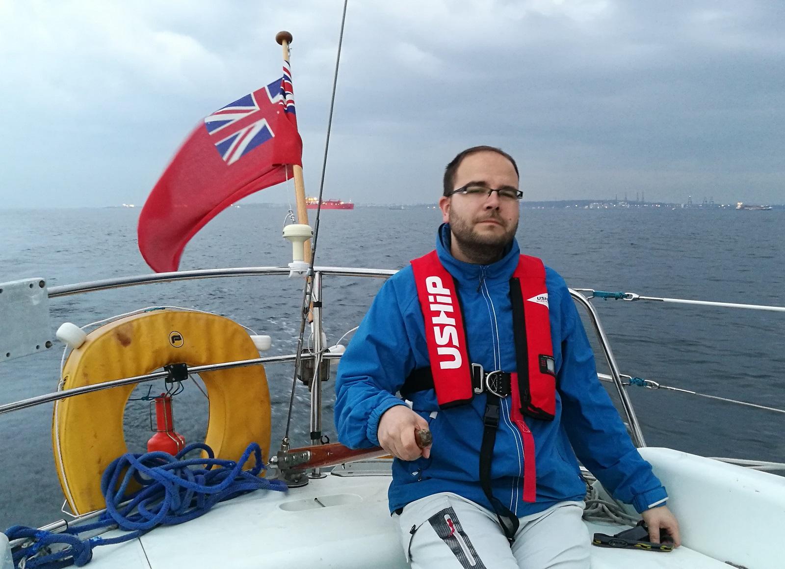3x poprvé: v Atlantiku, u píny a pod britskou vlajkou