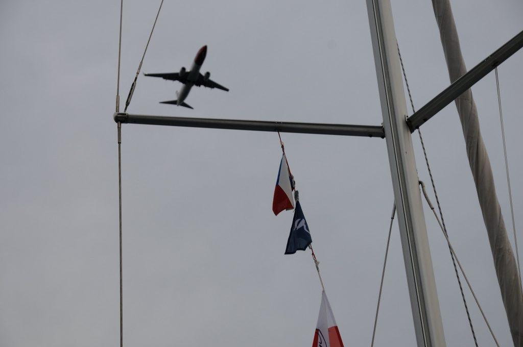 Letadla v Cavtatu