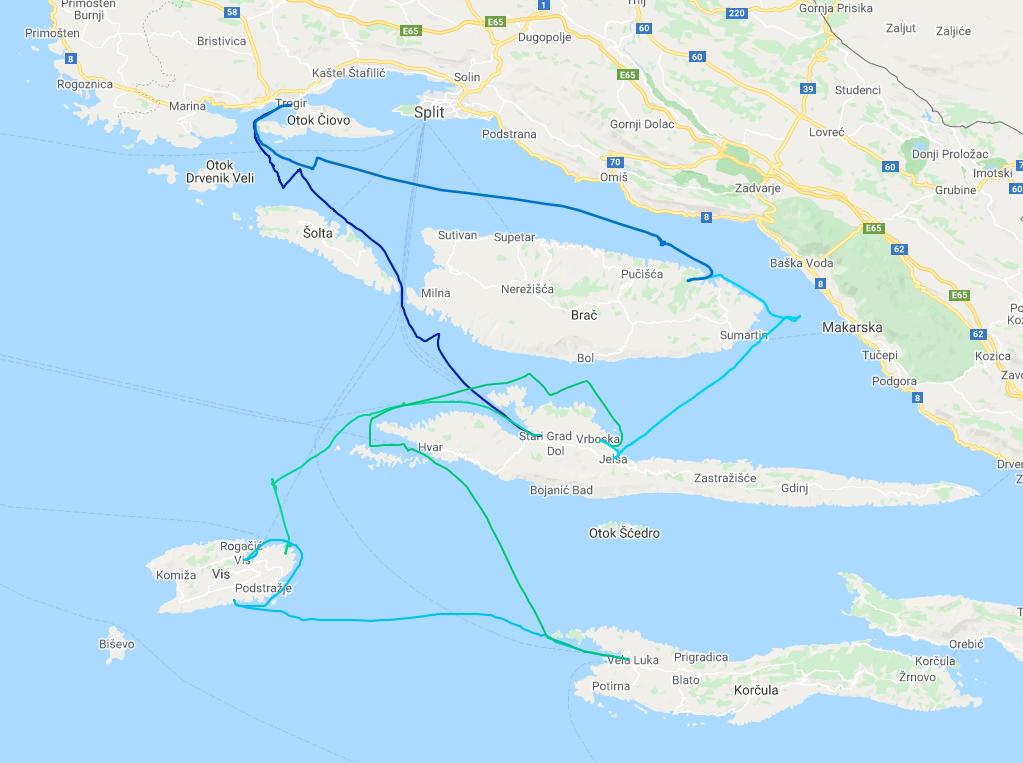 HS 2021 – trasa